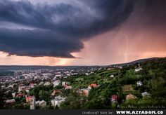 Storm in Pecs, Hungary photo on Sunsurfer Pecs Hungary, Weather Cloud, God Is Amazing, Europe Photos, Natural Scenery, Homeland, Beautiful World, Best Funny Pictures, Around The Worlds