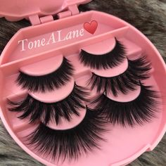 Package include: lashes w/ Case⭐️ Add Glue. Fake Lashes, Long Lashes, Mink Eyelashes, Eyelashes Grow, Eyelashes Makeup, Brows, Makeup Goals, Beauty Makeup, Makeup Geek