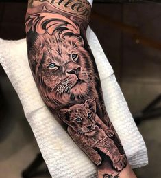 Best Arm Tattoos – Meanings, Ideas and Designs for This Year Part arm tattoo ideas; arm tattoo for girls; arm tattoos for girls; arm tattoos for women; Lion Sleeve, Lion Tattoo Sleeves, Tribal Sleeve Tattoos, Best Sleeve Tattoos, Tattoo Sleeve Designs, Tattoo Designs Men, Lion Cub Tattoo, Cubs Tattoo, Mens Lion Tattoo