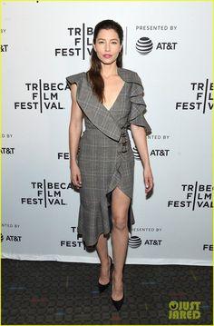 Джессика Бил представила многосерийный фильм Грешницы на фестивале Tribeca-2017
