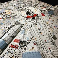 Lego MOC Millennium Falcon 1:20 scale Falcon 1, Lego Moc, Millennium Falcon, Starwars, Scale, Weighing Scale, Star Wars, Libra, Balance Sheet