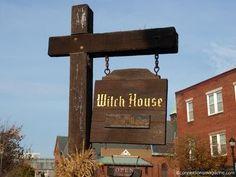 Image result for witch house sign salem