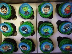 Teen Titans Go cupcakes