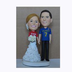 Custom  wedding cake topper by caketopper888 on Etsy, $138.00