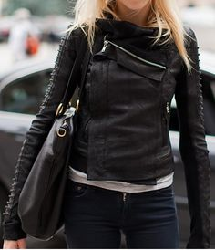 great leather jacket