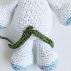 ELIE ENHJØRNING – Unkeldesign Crochet Hats, Beanie, Macrame, Fashion, Beginner Crochet, Free Pattern, Blue Prints, Knitting Hats, Moda