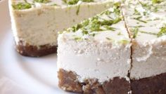 Vegan & Paleo Key Lime Cheesecake
