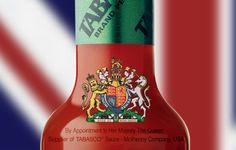 90370SF.eps   Growing up in England, I didn't realize the significance of the Royal Crest that appeared on our favorite brand of ketchup and jam.  It was a sign that signified quality: a Royal stamp of approval. It is good to know that the Queen is stocking her pantry