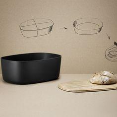 Box-It Brotkasten von Rig-Tig by Stelton Bread Bin, Bread Boxes, Diy Tumblr, Diy Kit, Diy Holz, Tool Storage, Kitchenware, Ceramic Tableware, Amazing Gardens