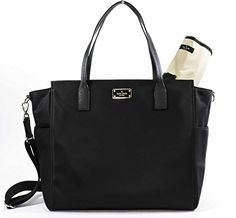 $170, Kate Spade Taden Baby Diaper Bag - Blake Avenue - WKRU3524 (Black) kate…