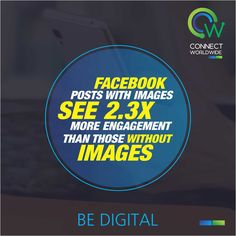 It is aptly said that a picture is worth a thousand words and posts with pictures garner much better response on the social media giant and everyone's favorite Facebook. #BeDigital
