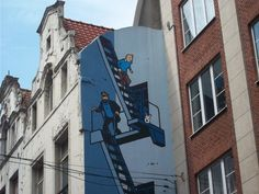 Urban ethnography/street art: Brussels, Belgium, photo by Michalina Barylka