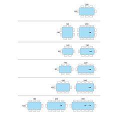 Medidas de mesas cuadradas para 12 personas buscar con for Mesas de 8 personas