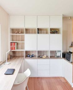 Study Room Design, Home Room Design, Home Office Design, Home Office Decor, Home Interior Design, House Design, Home Decor, Home Office Storage, Home Office Layouts
