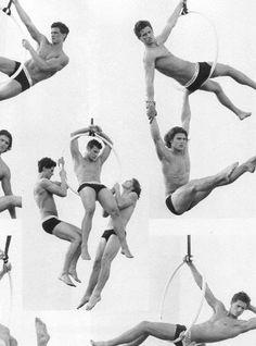 Acrobatic... #BruceWeber