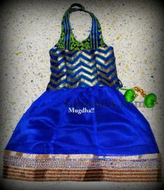 Indian Dresses: Halter Neck Kids Frock