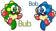 Bub and Bob - Bubble Bobble (Arcade)