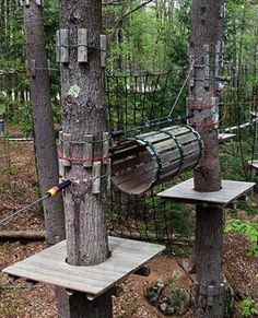 Adirondack Extreme Adventure Course in Bolton Landing, N.Y. -- from our favorite dangerous playground series.