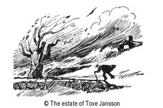 Tove Jansson's »Learn English« illustrations