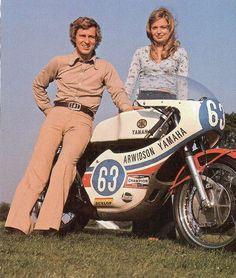 Jarno Saarinen & Wife..