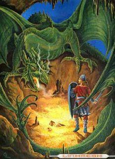 Cantar De Los Nibelungos Mythical Creatures Nordic Dragon Art