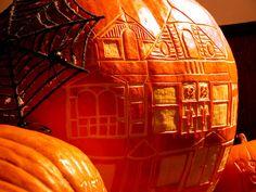 Pumpkin Art art ideas design pumpkin halloween no carve