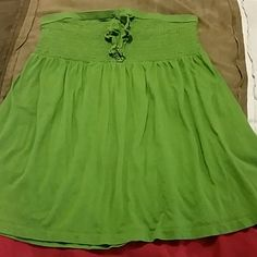 Lane Bryant halter top Green lain Bryant halter top size 16 Tops Tank Tops