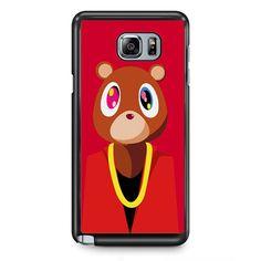 Kanye West Bear TATUM-6081 Samsung Phonecase Cover Samsung Galaxy Note 2 Note 3 Note 4 Note 5 Note Edge