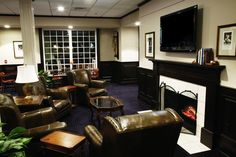 The Ryder Cup Lounge at The Carolina Pinehurst Resort, Queen Of The South, Ryder Cup, Grand Hotel, Hotels And Resorts, Guest Room, Spa, Relax, Lounge