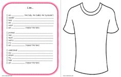 Think Pink: National Pink Shirt Day Jr/Intermediate student activity Anti Bullying Lessons, Anti Bullying Week, Bullying Activities, Writing Activities, Classroom Activities, Classroom Ideas, Classroom Crafts, Writing Ideas, Primary Teaching