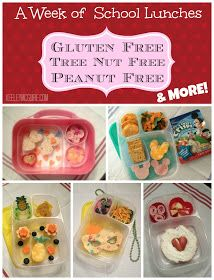 Keeley McGuire: Lunch Made Easy: {Allergy Friendly} School Lunches for the Week