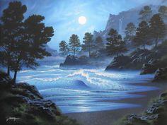 Midnight Blue by Jon Rattenbury