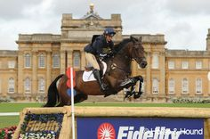 Piggy French and Chase The Moon at Blenheim Horse Trials