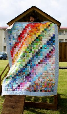 Quilt in the play place