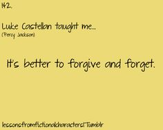 Lessons From Fictional Characters -