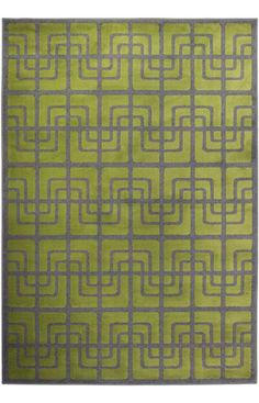 $5 Off when you share! Oriental Weavers Zanzibar 2803E Green Rug