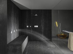 IMM Cologne and LivingInteriors Roundup: Sanitary Sensations to Smart Surfaces - News - Frameweb haha who on Earth would want to take a shower in this bathroom :D Huge Shower, Home By, Body Shower, Bathroom Toilets, Bathrooms, Bathroom Showers, Spanish Style Homes, Modern Shower, Modern Bathrooms