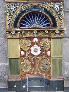 Doulton Drinking Fountain,1895 in Clevedon, England.