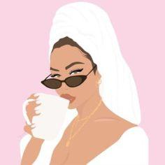 Beauty Illustration, Portrait Illustration, Digital Illustration, Schönheitssalon Design, Butterfly Wallpaper Iphone, Fashion Wall Art, Digital Art Girl, Instagram Highlight Icons, Grafik Design