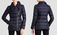 Mackage Coat - Qeren Asymmetric Zip Down