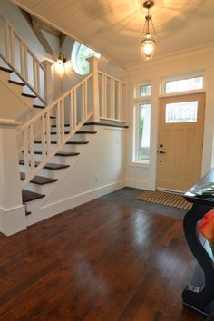 This is the color floor we'll be getting by the end of summer. I wish we had stairs...