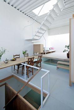 Maison japonaise à trois niveaux (8)