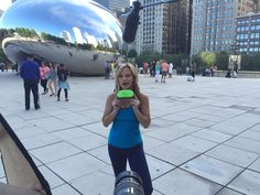 The world famous Chicago bean! Out take from our video shoot!