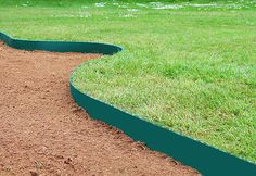 Cleveredge Easy Lawn Edging - Green x Green Garden, Lawn And Garden, Small Garden Tractor, Lawn Edging, Grass Seed, Brick And Stone, Lawn Care, Small Gardens, Pest Control
