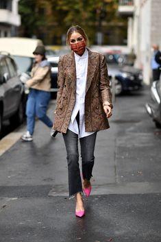 Olivia Palermo Outfit, Estilo Olivia Palermo, Olivia Palermo Style, Casual Chic Style, Casual Street Style, Street Style Women, Style Me, Street Styles, Cool Street Fashion