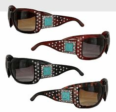 Turquoise Bling Sunglasses $19.97