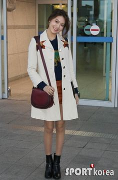 SNSD SooYoung is off to New York for New York Fashion Week ~ Wonderful Generation
