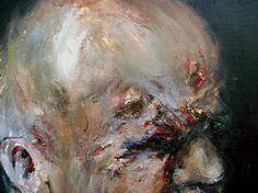 """""""EXZISTANCES"""", 2011, 20 x 40 cm / 35, 7 x 45 cm / 40 cm , oil on canvas"""