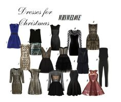 WHYWELOVE THE CHRISTMAS DRESSES SELECTION