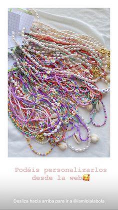Cute Jewelry, Beaded Jewelry, Beaded Bracelets, Jewellery, Diy Friendship Bracelets Patterns, Kawaii Accessories, Bracelet Crafts, Handcrafted Jewelry, Handmade
